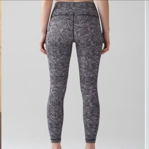 Lululemon Wunder Under Hi-Rise 7/8 Tight Size 6